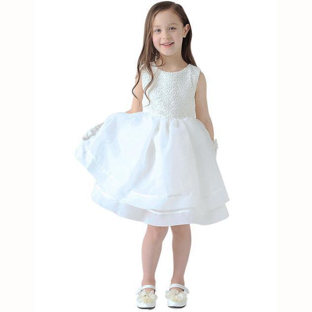 Храм моды Kid партия свадьбы невесты кружева платья для девочек платья для девочек