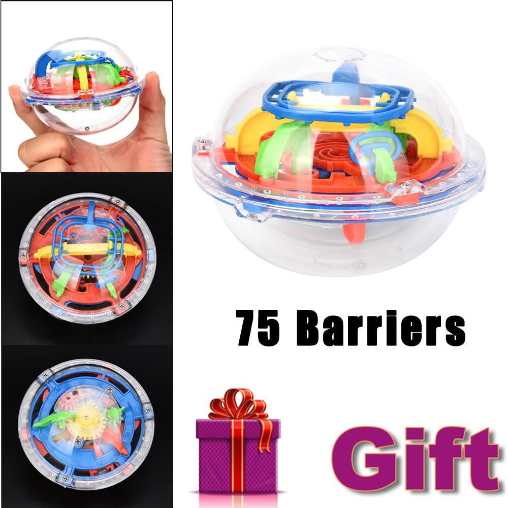 75 barriers 3d labyrinth magic intellect ball balance maze p