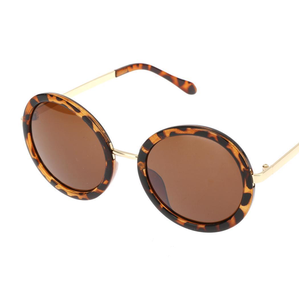 Джерри мода унисекс винтажном стиле пластиковая рама раунд случайных Открытый очки защитные УФ об... аксессуар очки защитные truper t 10813
