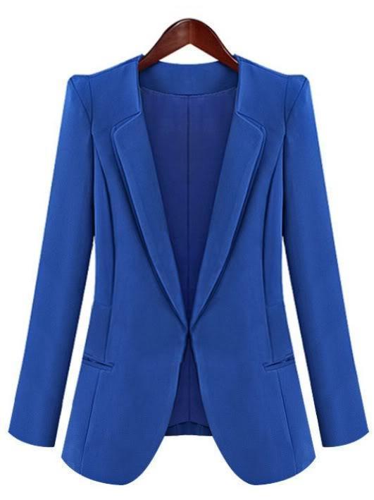 Знаменитости стиль женщины элегантный карьера пиджак пиджак случайные Slimline знаменитости в челябинске