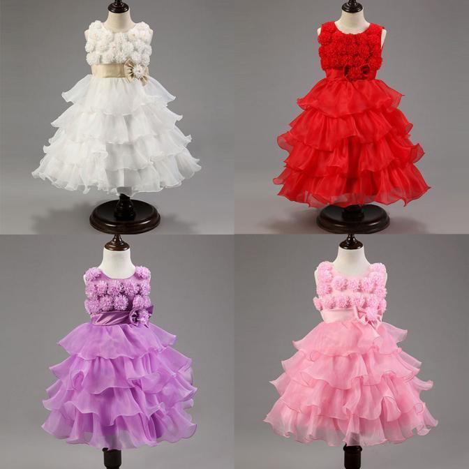 Девушка партии платье Платья детские платья невесты платье worldmart