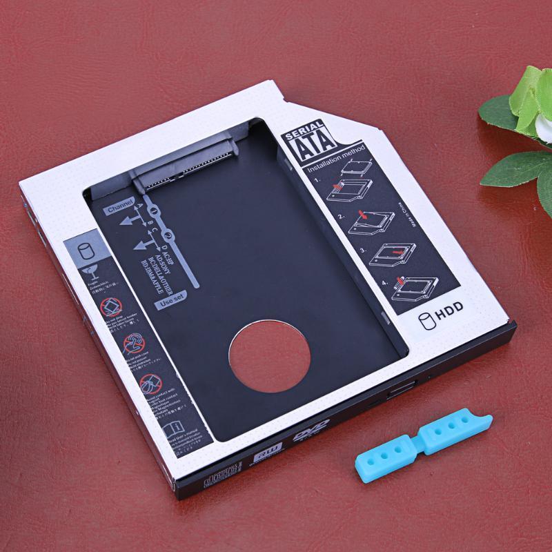 2 SATA жесткий диск SSD жесткий диск кэдди 12,7-мм универсальная CD / DVD-ROM оптических залив cd диск fifth harmony 7 27 1 cd