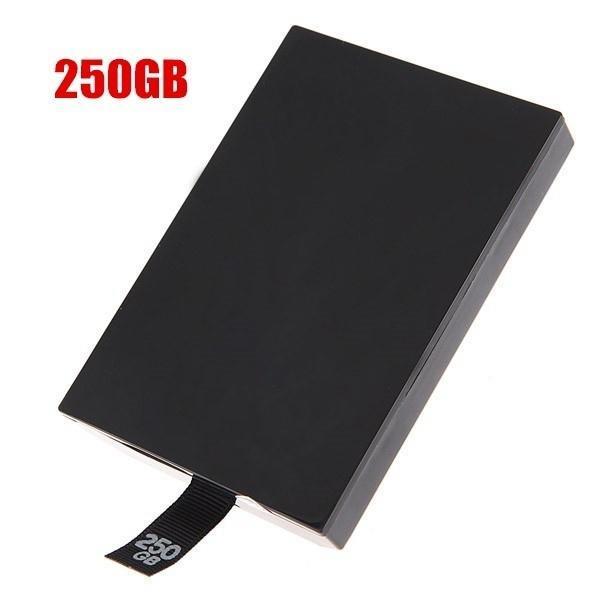 250GB 250G тонкий внутренний HDD жесткий диск для Microsoft XBOX360 Xbox 360 тонкие аксессуары Игры жесткий диск 250gb для xbox 360