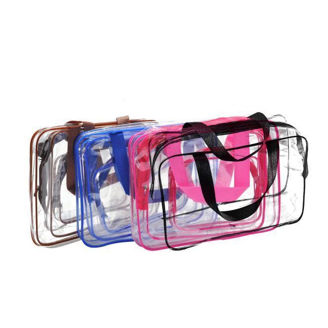 Путешествие должно прозрачный Materproof мешок мытья косметические Банные принадлежности банные принадлежности