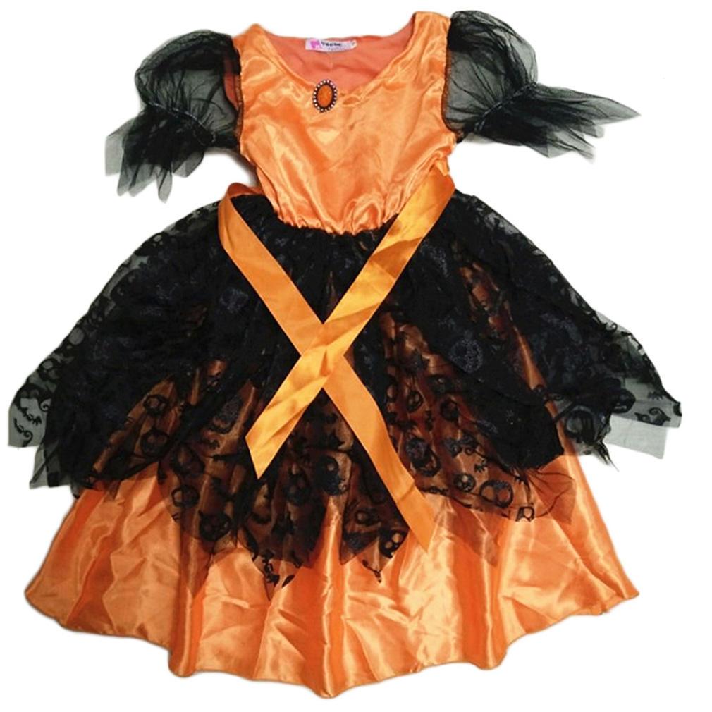 Платье принцессы одежды малого ребенка девочек детей девочек платья косплей Хэллоуин платья для девочек