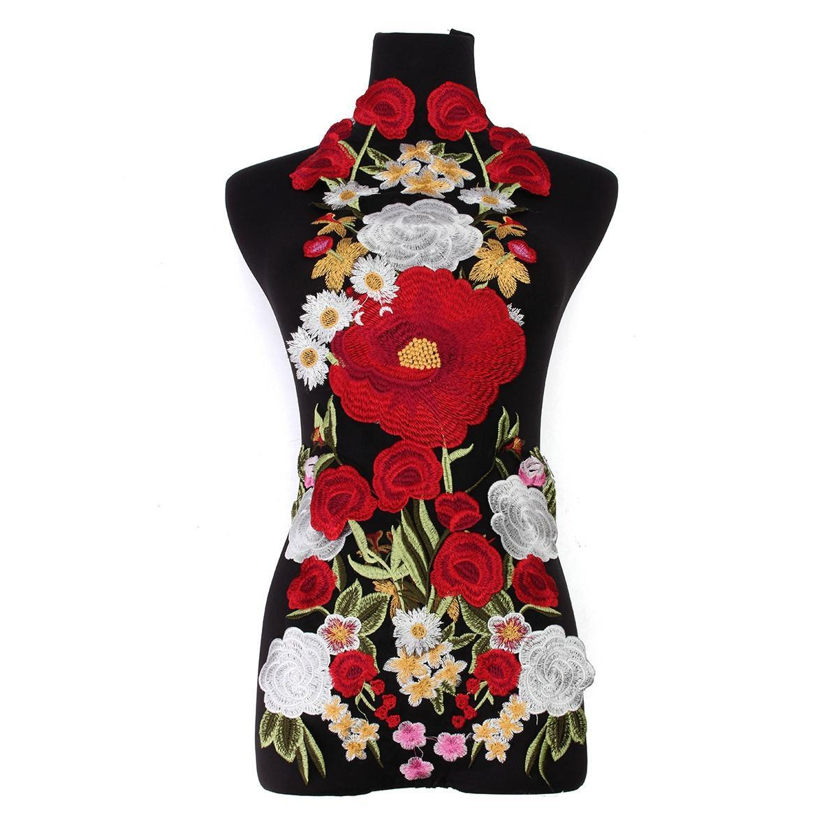 Большой цветок цветочные патчи кружева ткань вышивки аппликации мотивы швейная ремесла книги контэнт моя энциклопедия вышивки бисерная вышивка крестом цветочные мотивы
