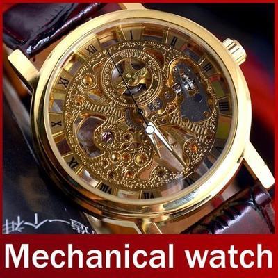 Часы самые дорогие skeleton