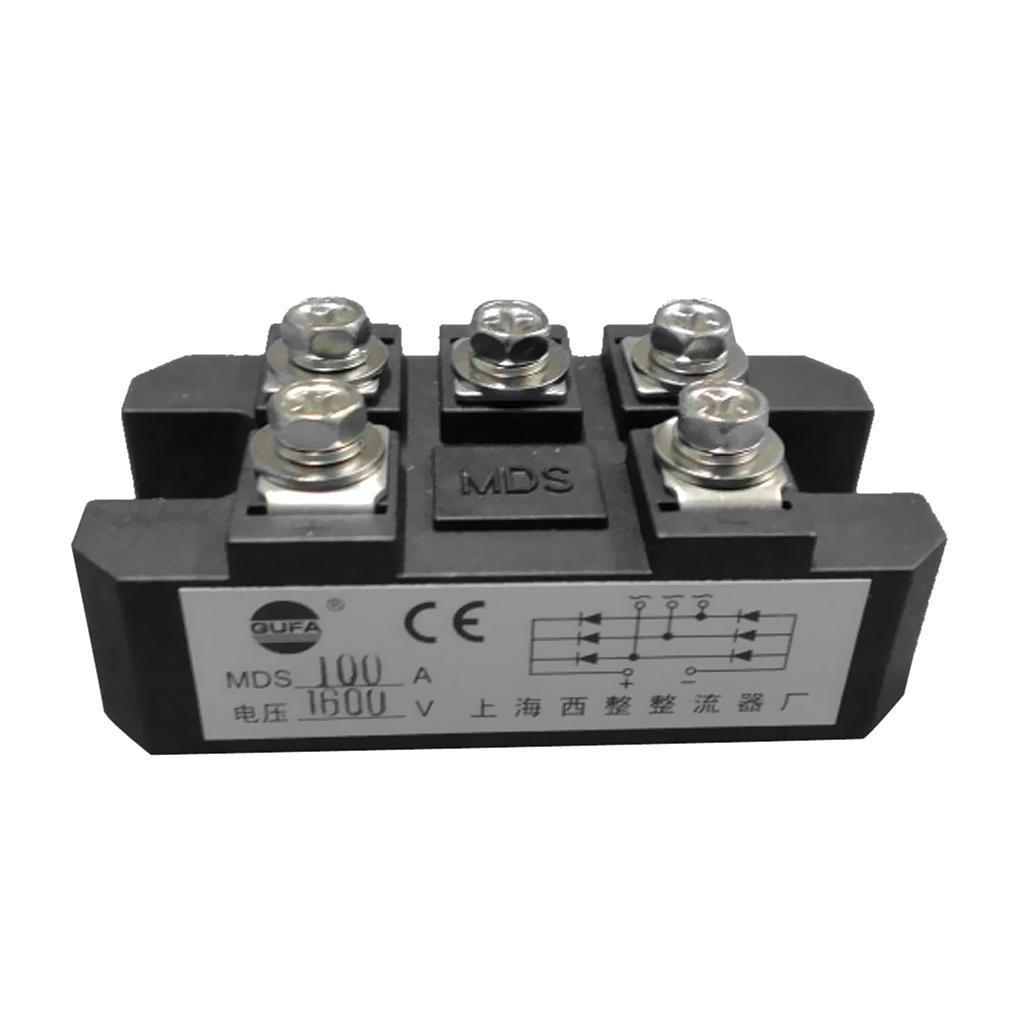 1600V MDS100A 3-фазный диод мост выпрямитель питания модуля AC220V для DC220V mitsubishi mds c1 v2 4535 mds c1 v2 4535
