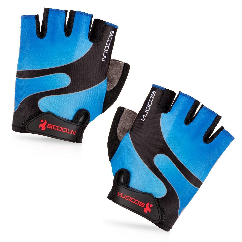 Велосипедные перчатки с амортизирующей Половина Finger велосипед езда перчатки велосипед перчатки перчатки stella перчатки