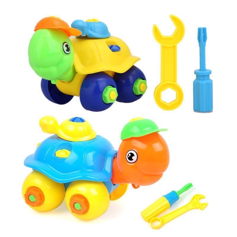 Разборка Черепаха автомобиль Дизайн образовательные игрушки для детей игрушки для детей