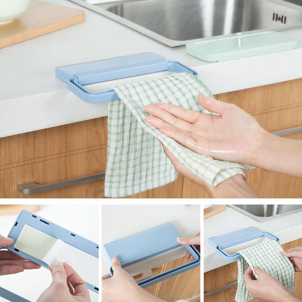 Портативный кухни корзина мешок держатель шкафы полотенце стойку