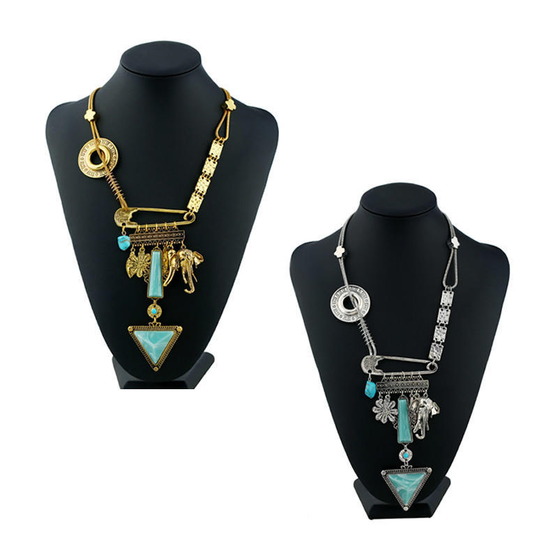 Цинк сплава антикварные серебряные антикварные золотого цвета покрытые смолой змея цепи ожерелье ...