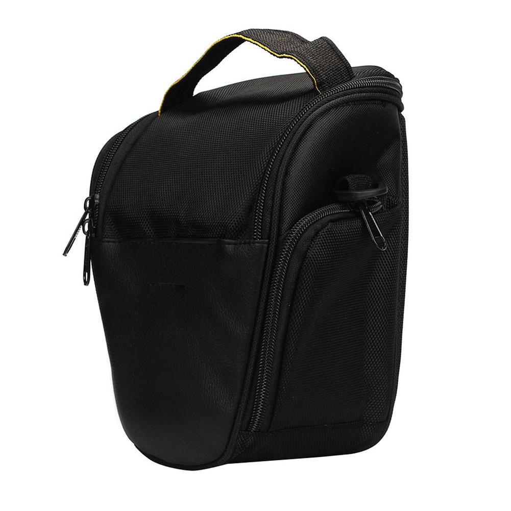 Черный треугольник нейлон SLR одно плечо сумка для фотокамеры черный треугольник