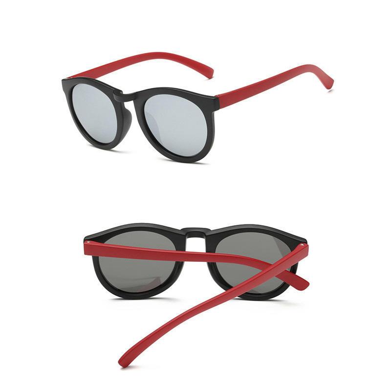 1шт моды глаз солнцезащитные очки для детей красочные поляризованные очки Аксессуары аксессуары для детей