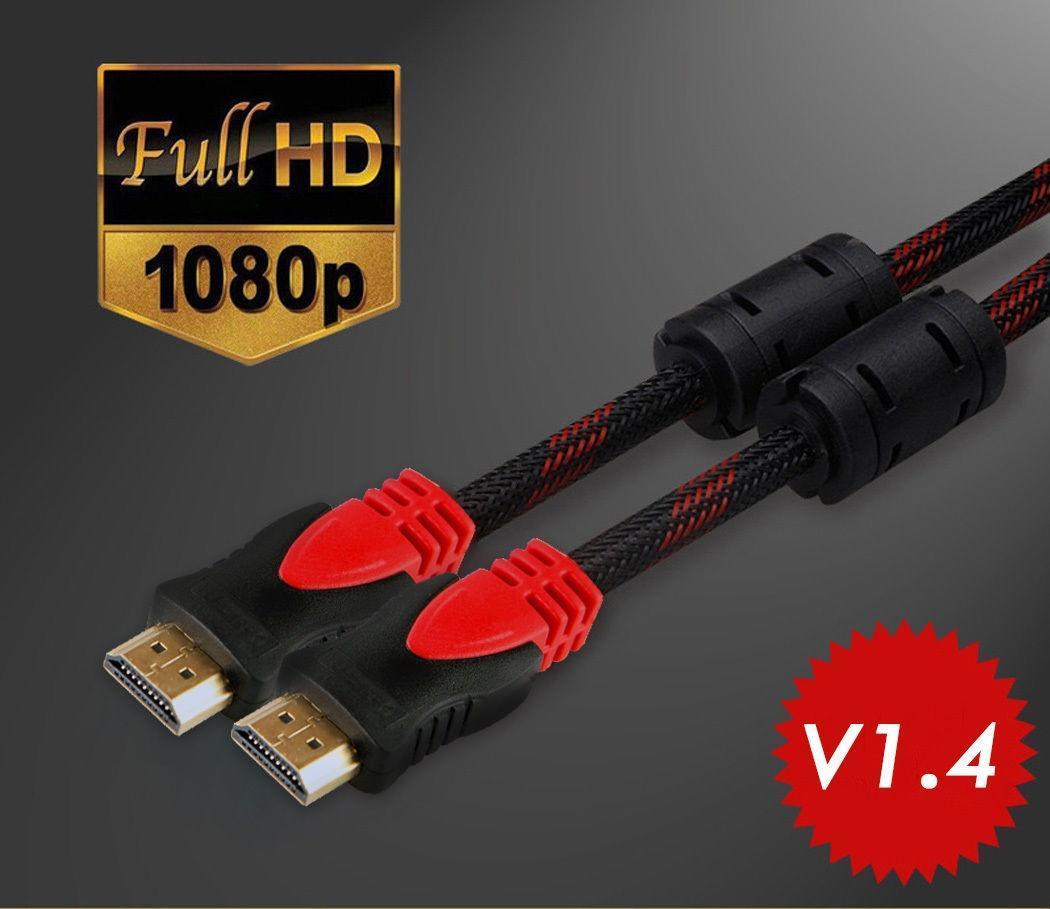 Новый V1.4 HDMI кабель 5 футов для Blu-ray 3D DVD PS3 HDTV XBOX LCD HD телевизор 1080 P 5 волна blu ray