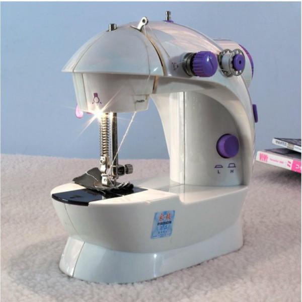 Портативный водить Электрический мини швейная машина бытовая рабочего стола швейная машина vlk napoli 2400