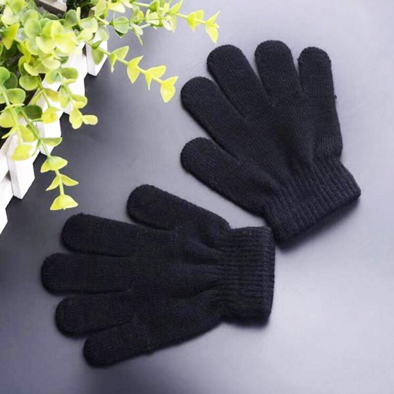 Черная магия зимние перчатки один размер детские теплые перчатки перчатки stella перчатки
