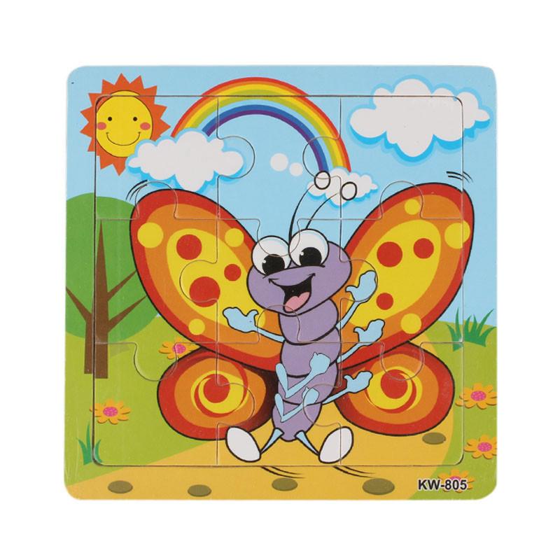 Деревянные пчела головоломки игрушки для детей образования и обучения, головоломки игрушки игрушки для детей