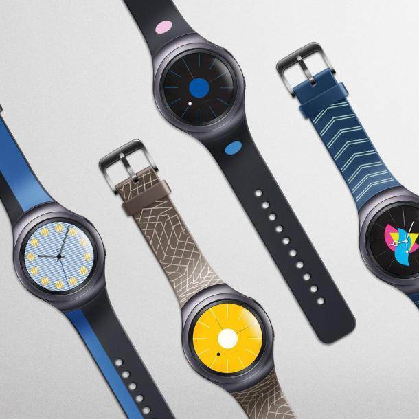 цена на Мода силиконовые часы группа ремешок для Samsung Galaxy S2 Gear SM-R720