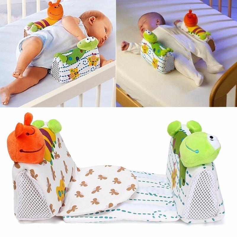 Новорожденных детей Младенческая сна Сейф анти-ролл поддержки подушки позиционер подушку honeymammy позиционер для новорожденных grano saraceno n
