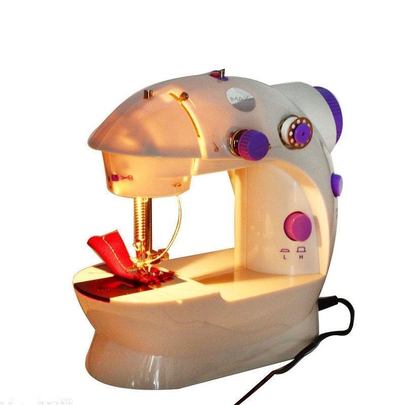 Новый портативный мини портативных электрических швейная машина Desktop дома бытовые швейные швейная машина vlk napoli 2400