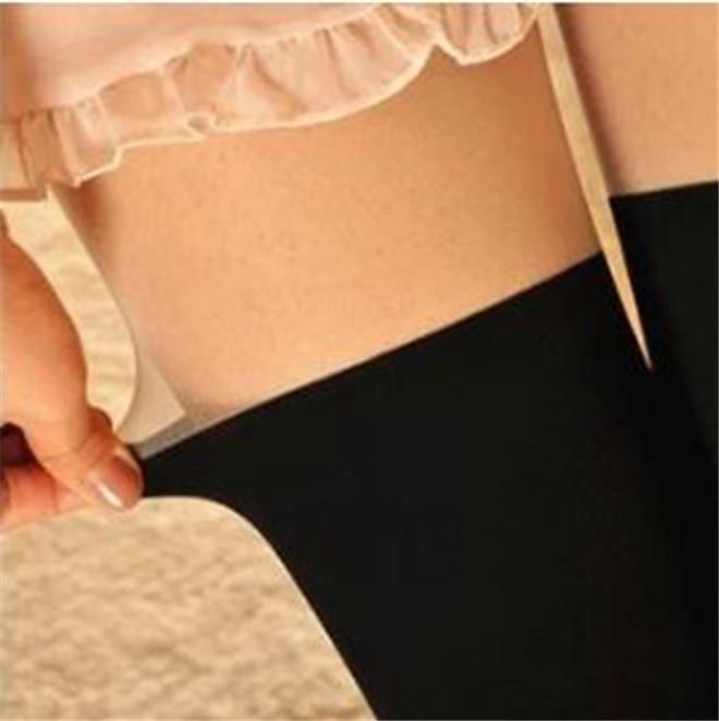Новый милый черный белый татуировки носки сексуальные Колготки колготки чулки
