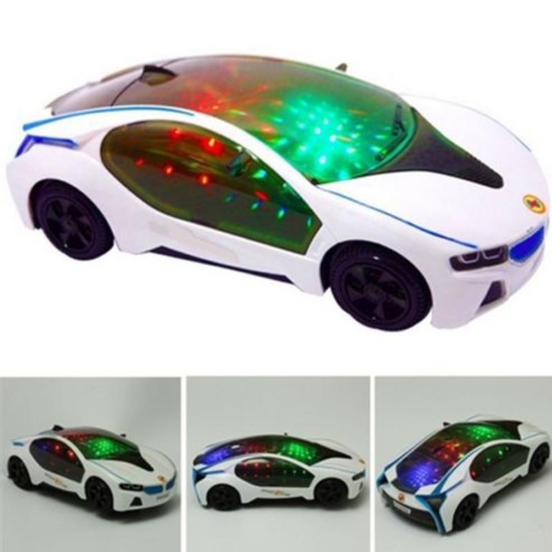 Автомобиль игрушки цвета градиента музыкальные дети игрушки