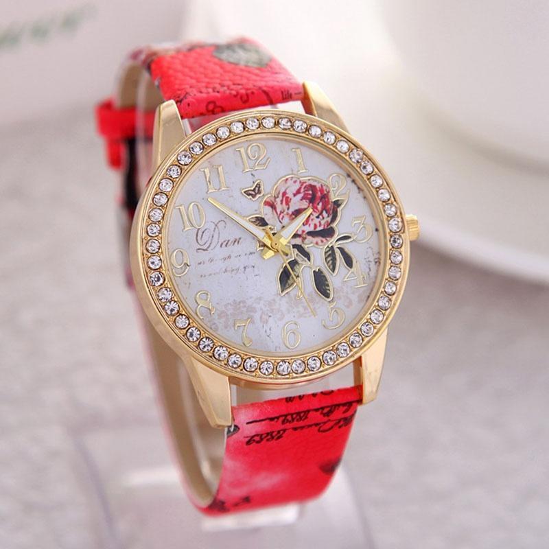 Новый магазин Скидка! милые леди наручные часы мода кварцевый часы скидка