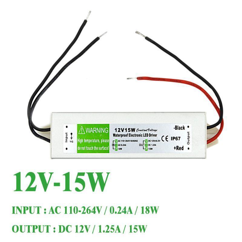 S-12-15 12V 1.25A железный ящик LED-водонепроницаемый, импульсный источник питания доска для объявлений dz j1a 169 led led jndx 1 s a