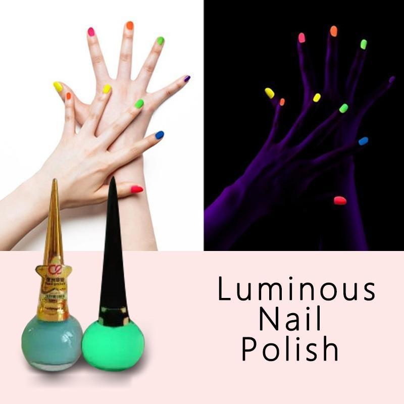Флуоресцентный ногтей краски Лаки Лак для ногтей матовый лак светящийся нетоксичные лаки для ногтей isadora лак для ногтей гелевый gel nail lacquer 247 6 мл