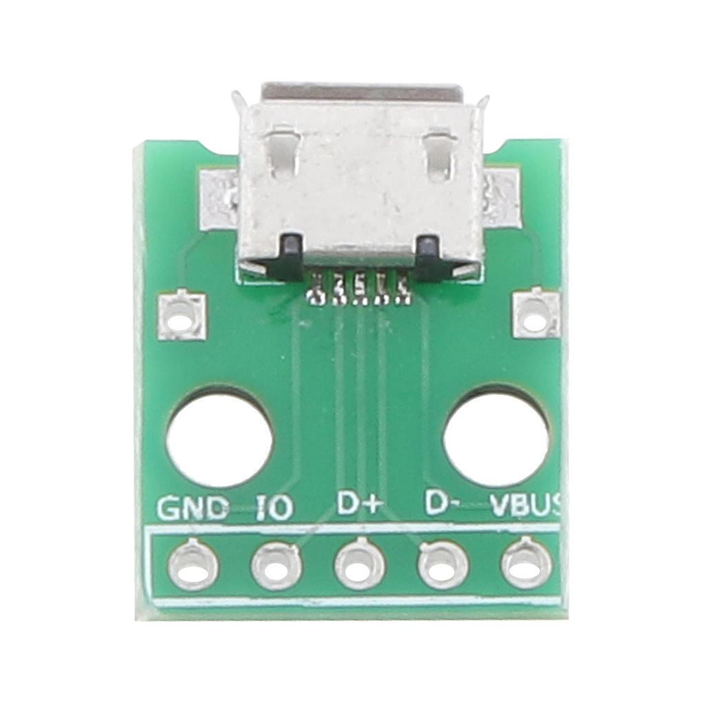 МИКРО USB DIP адаптер 5pin разъем B преобразователь типа PCB tda16888 dip
