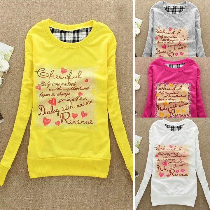 Мода женская одежда шею хлопка тонкий случайные краткие футболки футболка