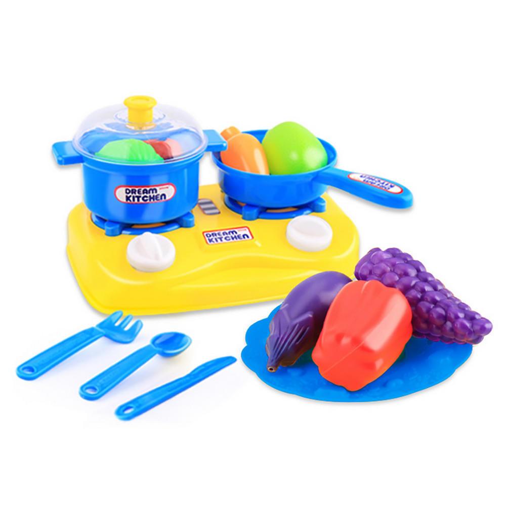 15pcs plastic kids children kitchen utensils food cooking pr