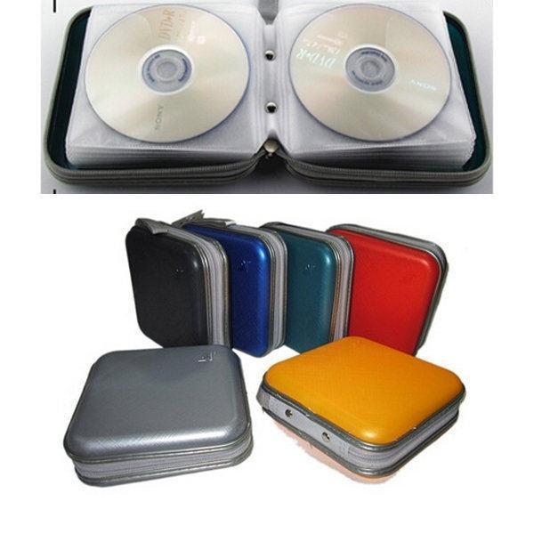 40pcs диск CD VCD DVD бумажник альбом пластиковый ящик для хранения Организатор держатель мешок с... 40 cd