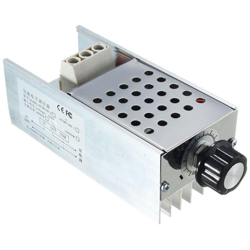 10000W AC 220V SCR напряжения регулятор скорости контроллер регулятора термостат 2 w p w v p10000 10000 waka ddc12