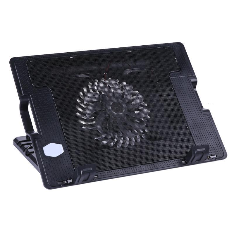 2 USB регулируемые стенд ноутбук охлаждение кулер Pad для ПК ноутбук