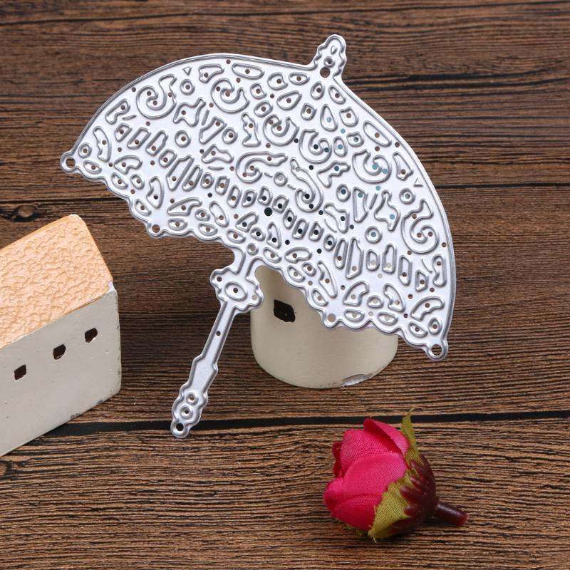 Die дизайн металлические Зонты режущие плашки трафареты для DIY скрапбукинга зонты