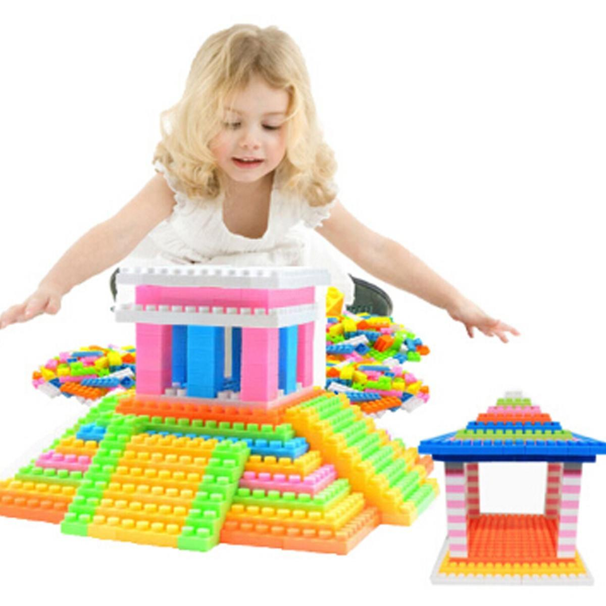 1 набор детей Аксессуары детские пластиковые детей головоломки образовательные игрушки строительн... аксессуары для детей