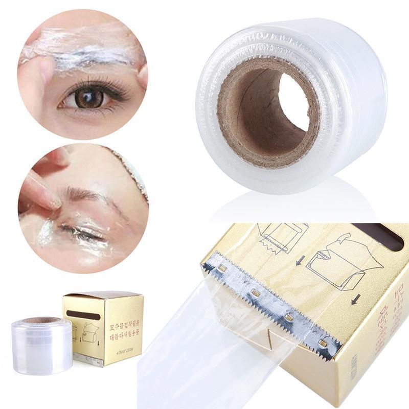1 коробка тату пластиковые обертывания охватывают консервант фильм Полуперманентная макияж тату б...