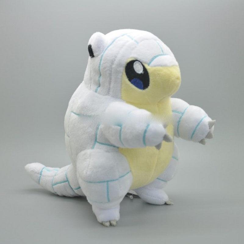 Pokemon центр монстр Алола Sandshrew песок плюшевые Фаршированная Doll Игрушка животных 7 дюймов футболка print bar sandshrew alola