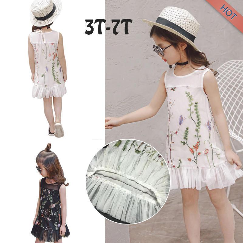 Дети младенца девочек летом цветочные платья одежда платья принцессы наряды Beigaogao платья для девочек