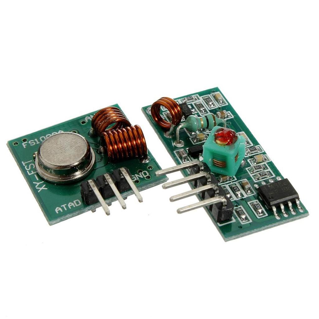 RF 315/433 MHz Transmitter-receiver Module and Arduino