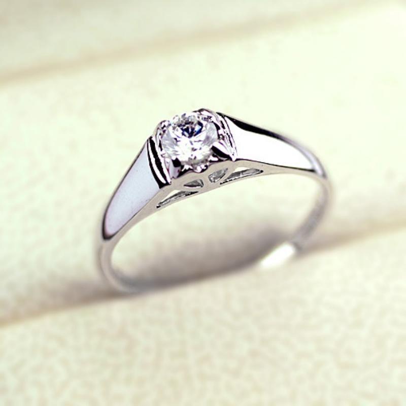 Ювелирные изделия очарование кольцо стразами кристалл кольцо леди (серебро)