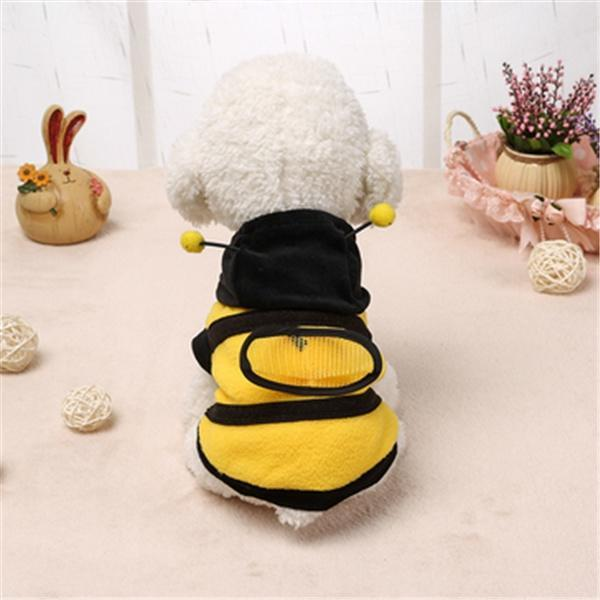 Пчелка Мягкий Хлопок одежда щенка собака домашнее животное одежда Тедди одежда одежда
