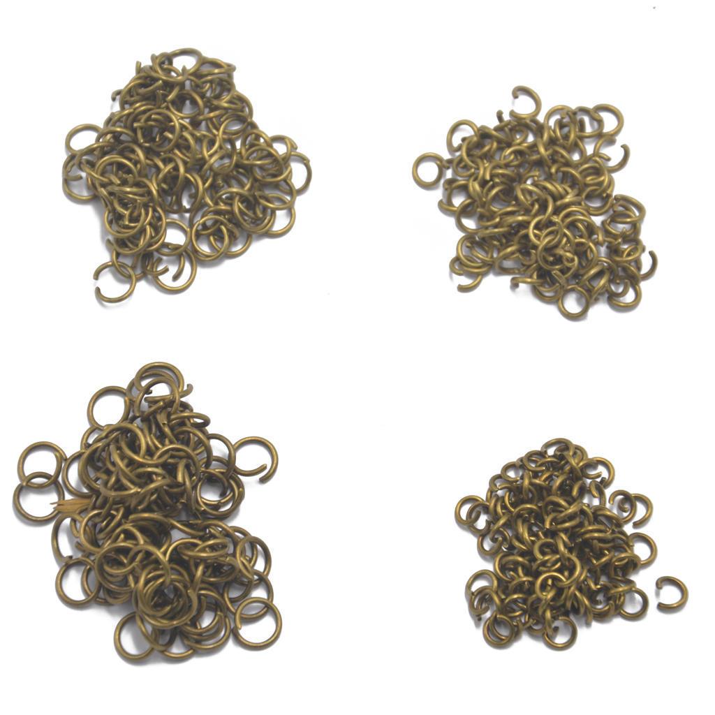 400 шт 5 мм 6 мм 8 мм 7 мм перейти кольцо открытый разъем Античная бронза 400 5 6 0868