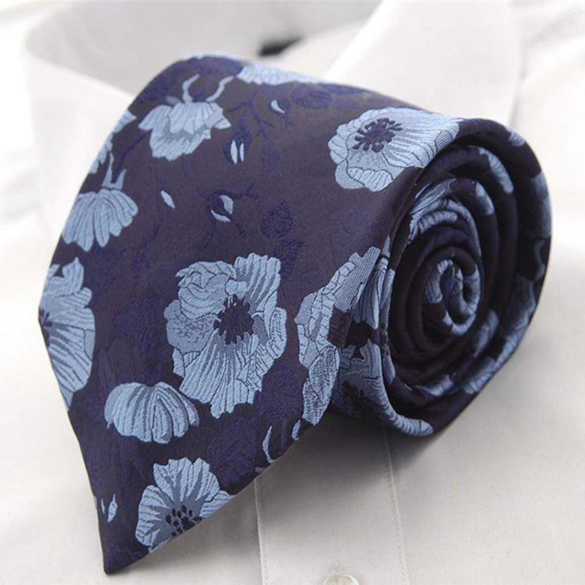 Горячие продажи цветок Slim галстуки для мужчин случайные Cravat печатных цветочные галстуки галстуки