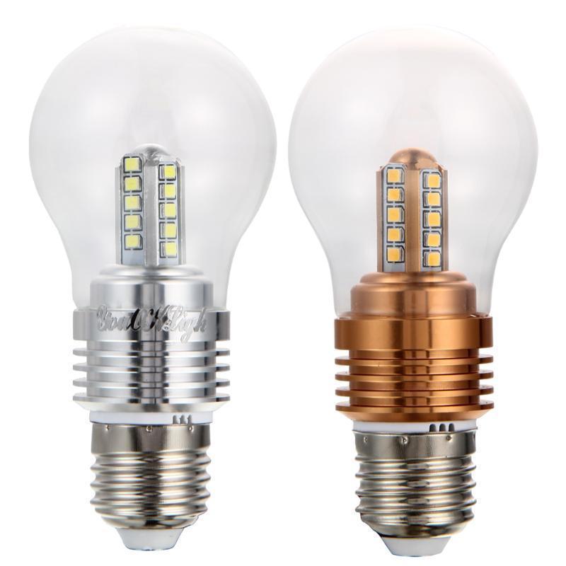 YouOKLight E27 4W 360lm 3000 K 20xSMD2835 теплый белый/белый привело лампа youoklight yk0767 e27 4w 450lm 3500k cob