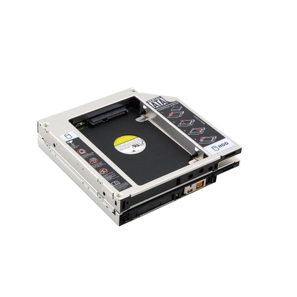 2 SATA HDD HD жесткий водитель Caddy 12,7 мм CD / DVD-ROM оптических залив головка звукоснимателя goldring gl2300