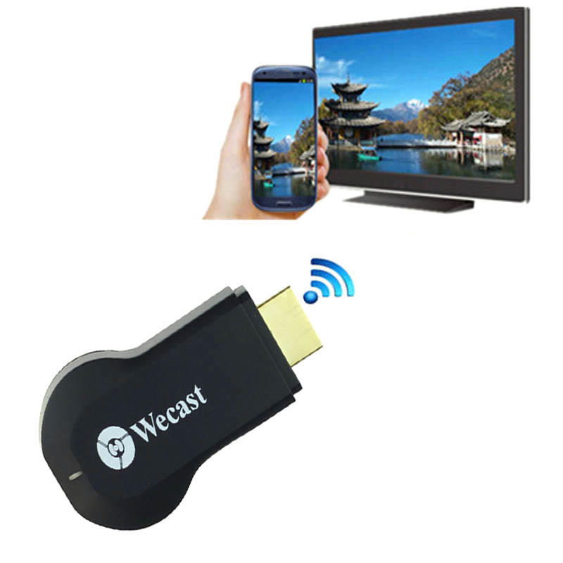 Wecast C2 OTA Miracast DLNA 1080P дисплей WiFi приемник Dongle Airplay HDMI tv stick miracast dongle hdmi miracast wifi dongle 1080p hdmi ipush dlna ios android os mac windows miracast airplay dongle