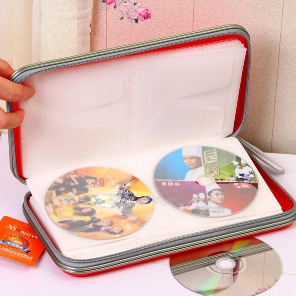 80 диск CD DVD хранения мешок случае бумажник альбом cd диск fifth harmony 7 27 1 cd